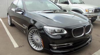 2013 BMW B7 Alpina - Before