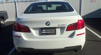 2013 BMW 535i - Before