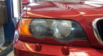 Headlight Restoration - After