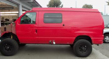Ford E350 - Before